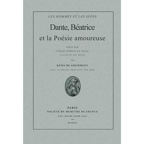 Download Dante, Béatrice et la poésie amoureuse