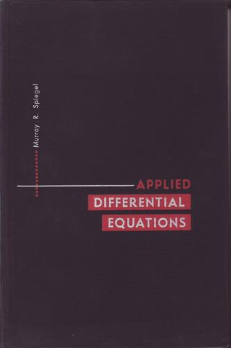 Download Applied differential equations.