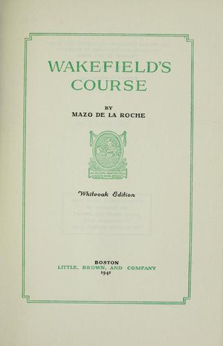 Wakefield's course