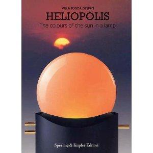 Heliopolis The Colours Of The Sun In A Lamp by Augusto Grillo