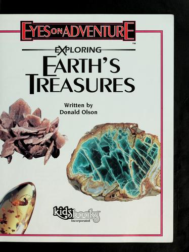 Exploring earth's treasures by Donald Olson