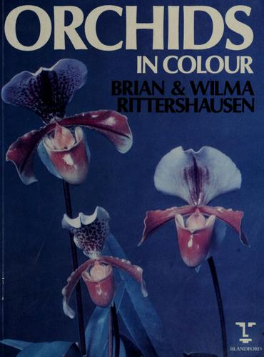 Orchids in colour by Brian Rittershausen
