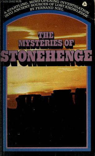 The mysteries of Stonehenge by Fernand Niel