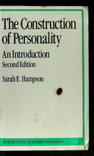 The construction of personality
