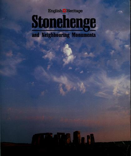 Stonehenge and neighbouring monuments by edited by Ken Osborne.
