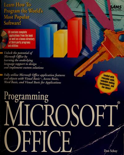 Programming Microsoft Office by Don Schuy