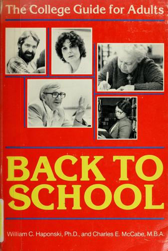Back to school by William C. Haponski